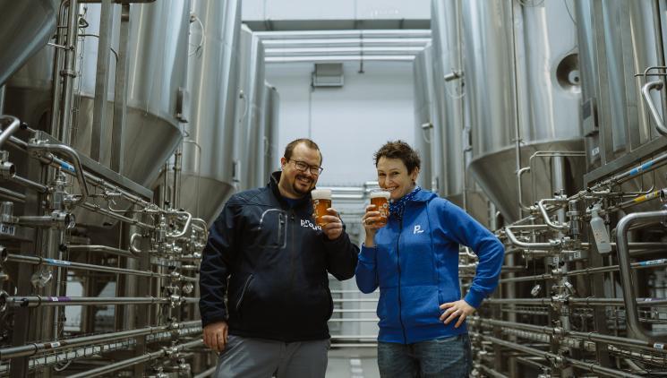 Pivovar Proud: Pivo, v němž je správná energie